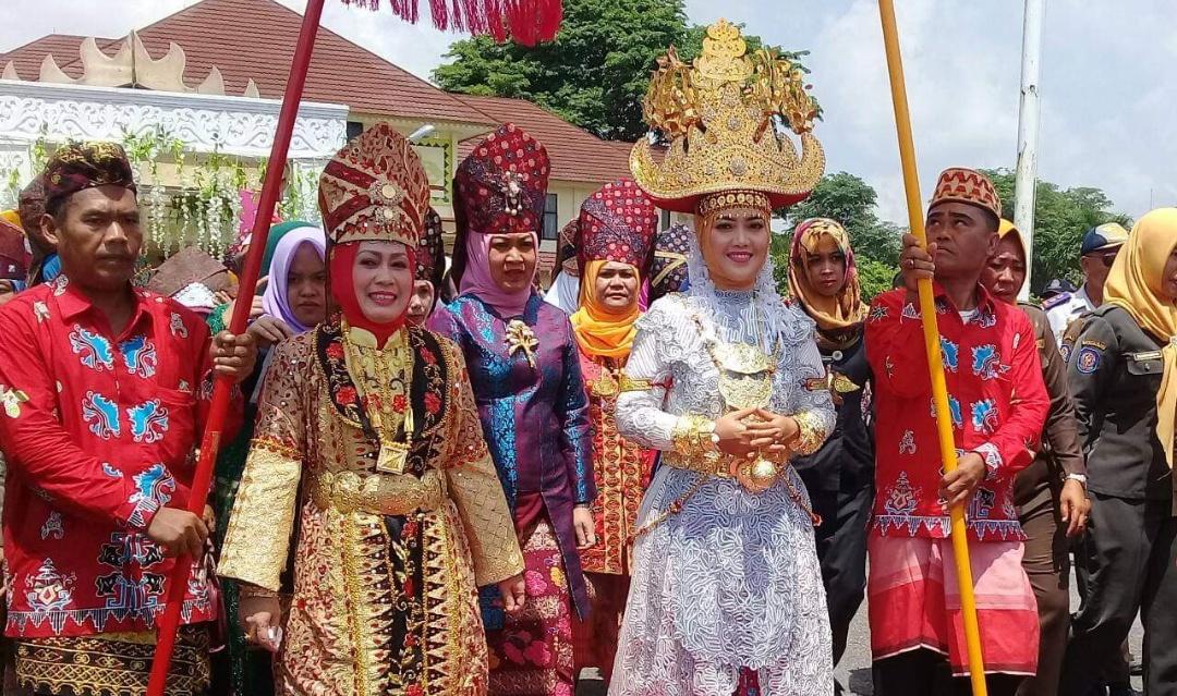 Festival Budaya Muwaghei, Satukan Keberagaman Adat Lampung Timur