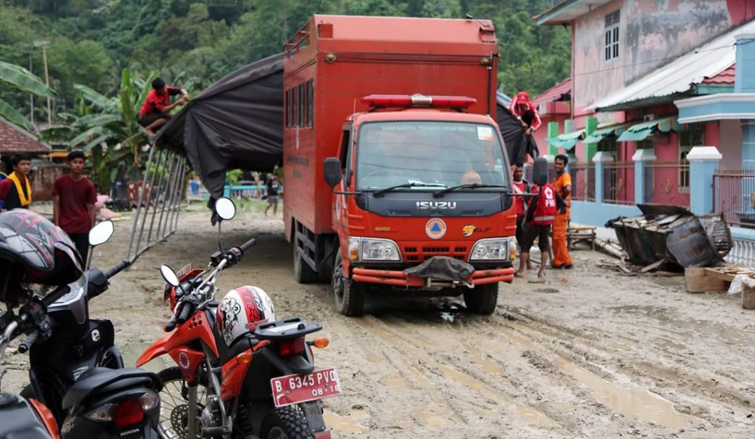 Banjir Katibung, BPBD Lamsel Siagakan Tempat Pengungsian