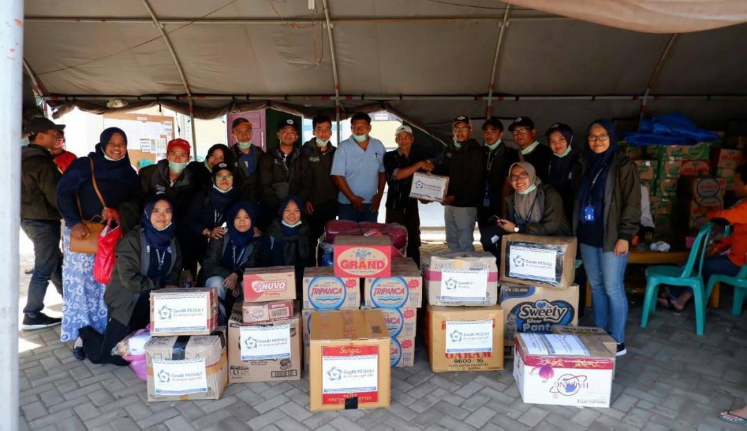 Kunjungi Korban Tsunami, Pengungsi Sampaikan Kerinduan Pada Sosok Rycko