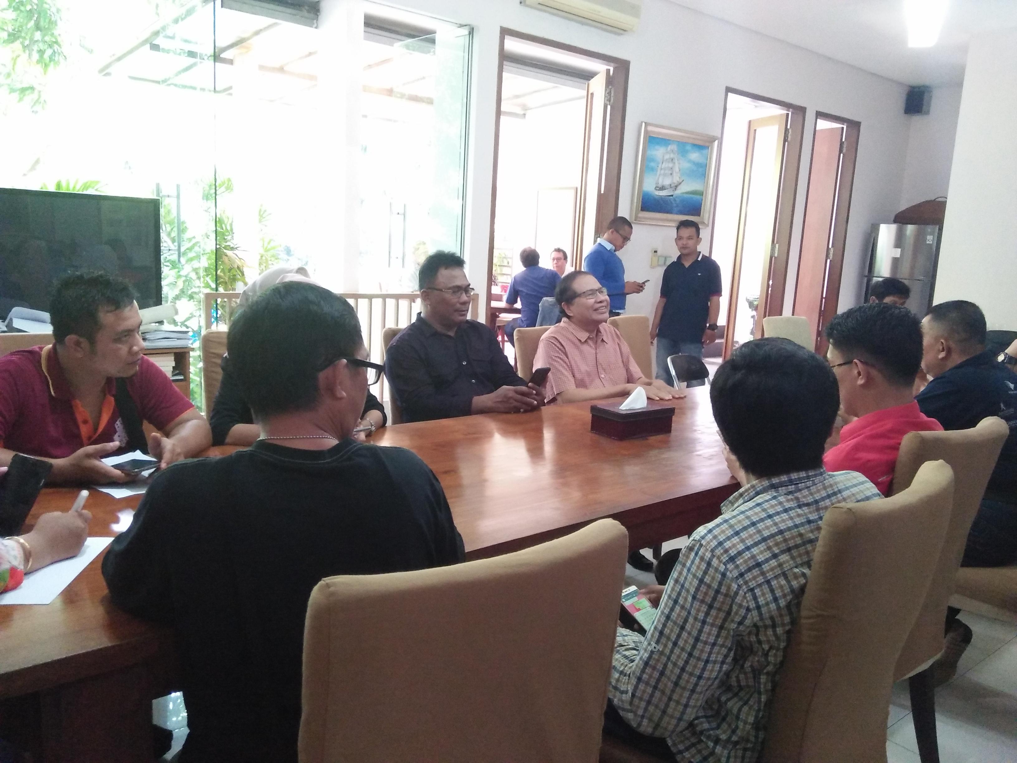 Rizal Ramli Diskusi dengan Jurnalis Bahas Pilpres