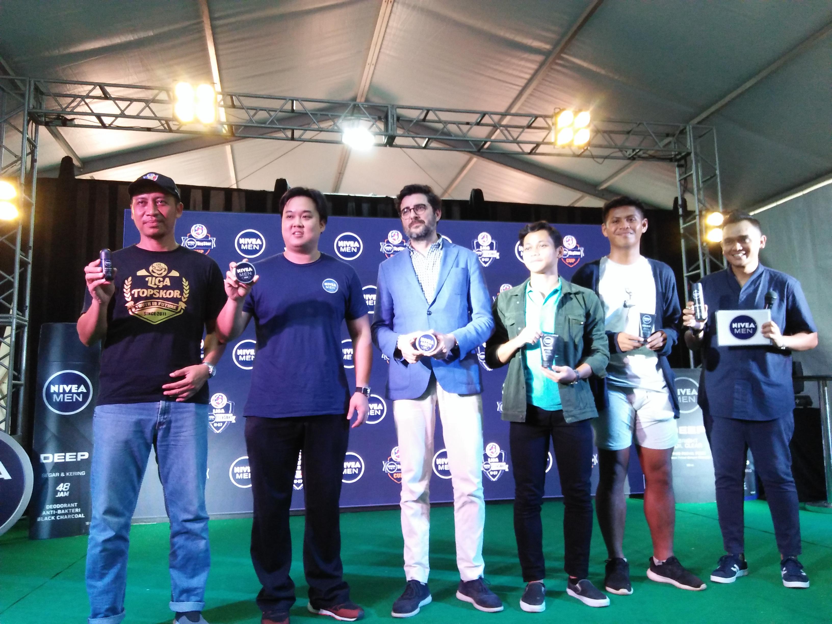Liga Nivea Men Sukses Digelar di Jakarta
